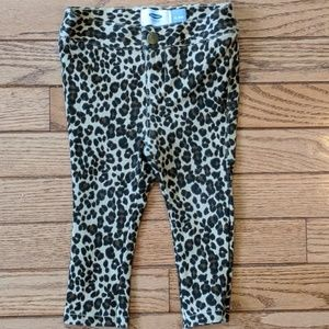 Leopard Print Jeggings Pants Leggings
